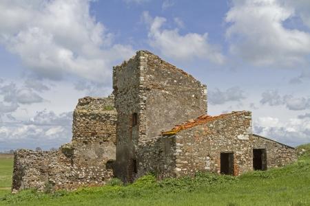 farm ruin in Lazio