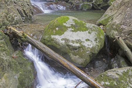 Sibli waterfall - Idyllic waterfall ascending the Wallenberg from Sutten valley