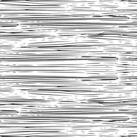 Illustration pour Abstract irregular ink strokes striped background. Seamless pattern. Vector. - image libre de droit