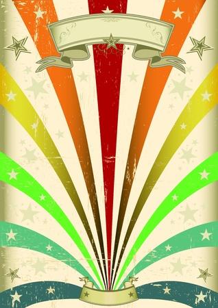 Illustration pour A vintage carnival poster for your parade - image libre de droit