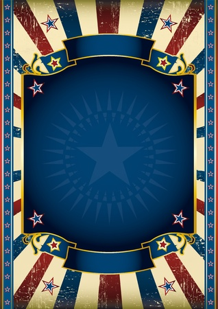 An American star poster for your advertising