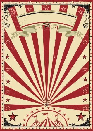Foto de Circus red vintage - Imagen libre de derechos