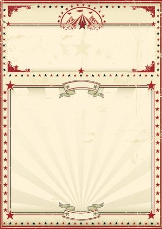 Illustration pour A circus vintage poster for your advertising  Enjoy - image libre de droit