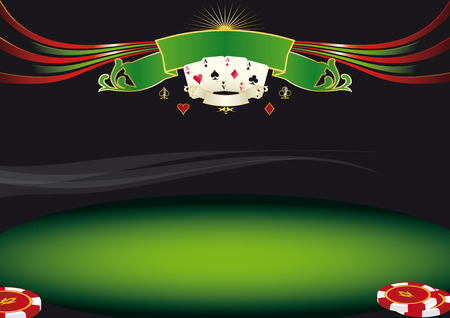Nice horizontal  poker background  Use this background for a screen in a casino