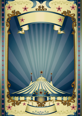Vector Of A Vintage Circus Background Id35756784
