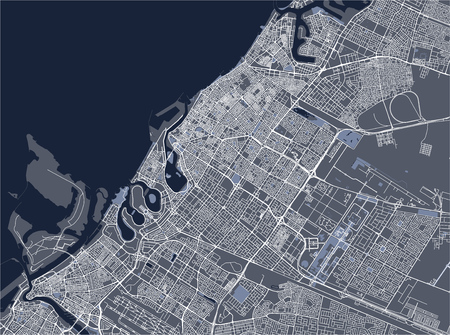 City Vector Maps on