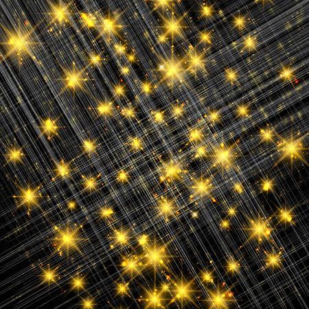 Silver sparkle glitter background. Sparkling flow background.
