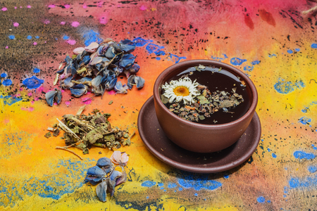 Still life- herbal and floral tea. It is possible to print large format.
