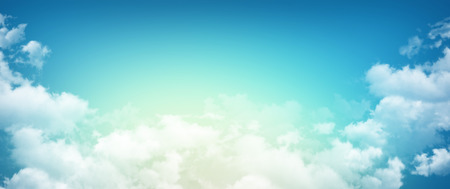 High resolution morning sky background, sunlight through white clouds