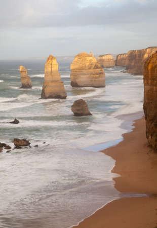 The Twelve Apostles in the morning, Great Ocean Road, Australia