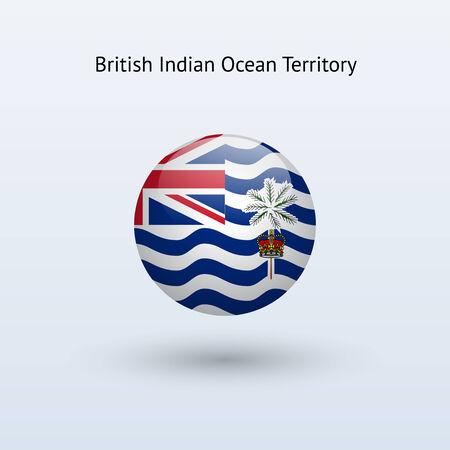British Indian Ocean Territory round flag