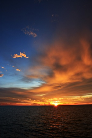 sky at the dawn
