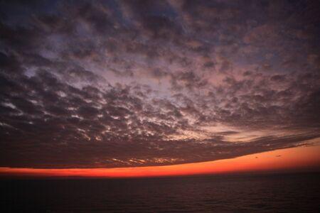 sky on the dawn