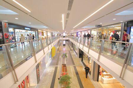 Photo pour Madrid Spain - May 27, 2019: People visit Centro Comercial Principe Pio Shopping mall Madrid Spain. - image libre de droit