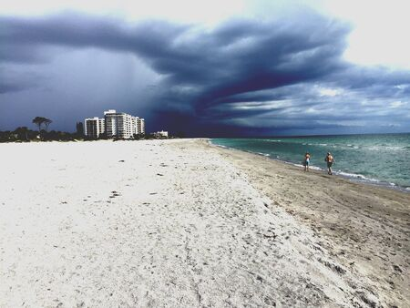 Storms a brewing! Venice Beach, Fl