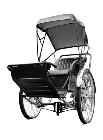 Rickshaw travel transport old