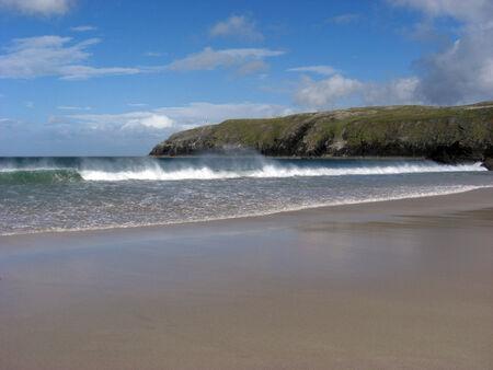 Coastal landscape in the Scottish North