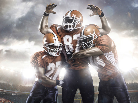 Photo for American football players in action on the stadium - Royalty Free Image