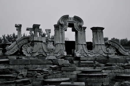 Ruin at old summer palace