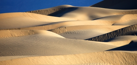 Sand Dune Formations in Deat