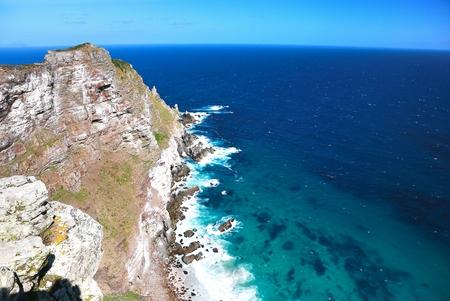 Photo pour Cape Point & Cape of Good Hope at Cape Town in South Africa - image libre de droit