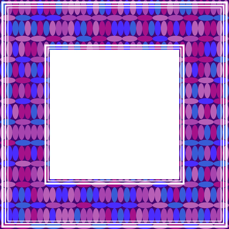 Abstract Ultra Violet Border Design Element For Photo