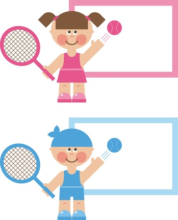 children s sports, the game of tennis