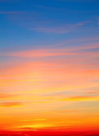 Colourful red-white-yellow Sky Background