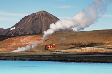 Geothermal power energy station - Iceland