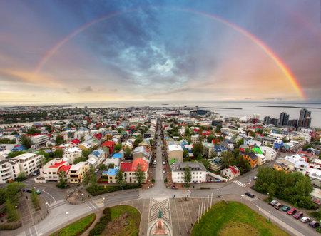 Reykjavik cityspace, Iceland