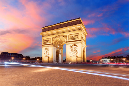 Paris, Arc de Triumph, France