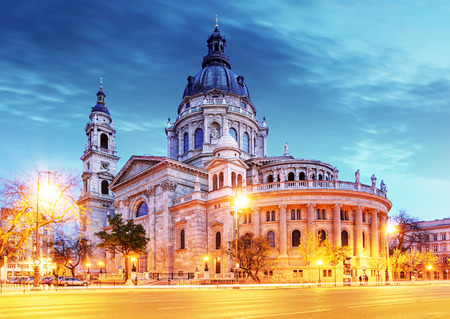 Photo for St. Stephen basilica in Budapest - Royalty Free Image