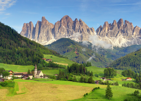 Italy dolomites  Val di Funes