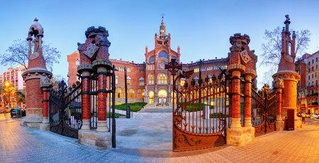 Hospital Sant Pau in Barcelona, Spain