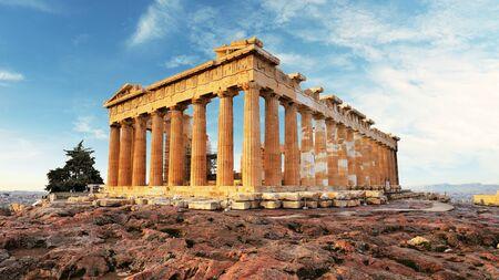 Photo for Parthenon on Acropolis, Athens, Greece. Nobody - Royalty Free Image