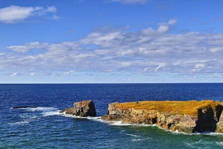 Foto per Port Isaac, Cornovaglia, paesaggio - Immagine Royalty Free