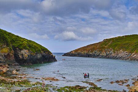 Foto per Port Queen, Cornovaglia, paesaggio - Immagine Royalty Free
