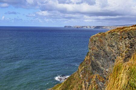 Foto per Port Gavern, Cornovaglia, paesaggio - Immagine Royalty Free
