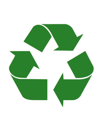 Triangular recycling symbol