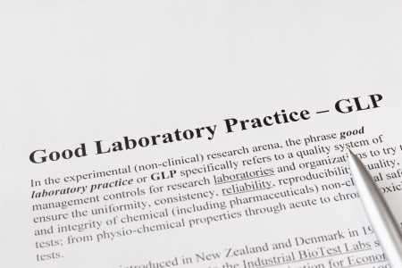 good laboratory practice or GLP refers to a quality system of management controls for research laboratories