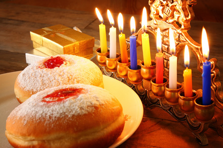image of jewish holiday Hanukkah
