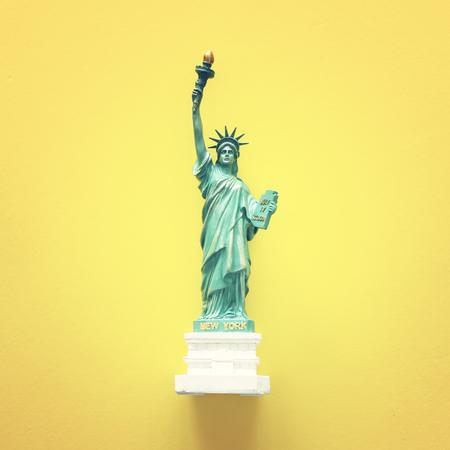 Photo pour American symbol Statue of Liberty - image libre de droit