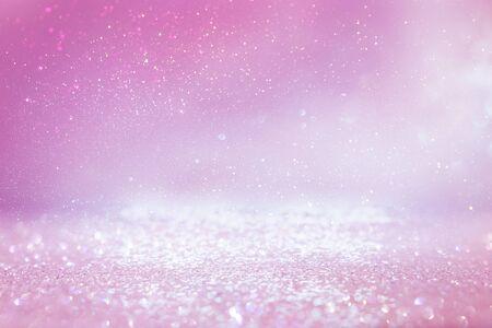Foto für background of abstract glitter lights. purple, pink, gold and silver. de focused - Lizenzfreies Bild
