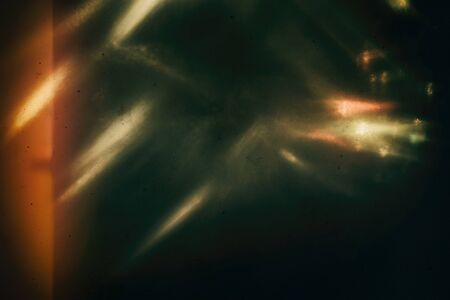 Photo for Background of retro film overly, image with scratch, dust and light leaks - Royalty Free Image