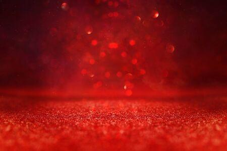Foto für background of abstract red, gold and black glitter lights. defocused - Lizenzfreies Bild