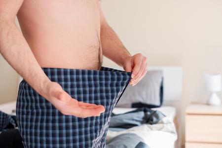 Photo pour Man with sexual problem concept - image libre de droit