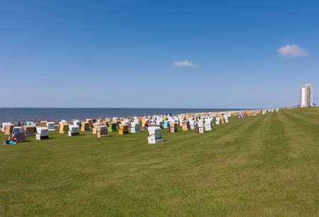 Beachchairs at Nordsee