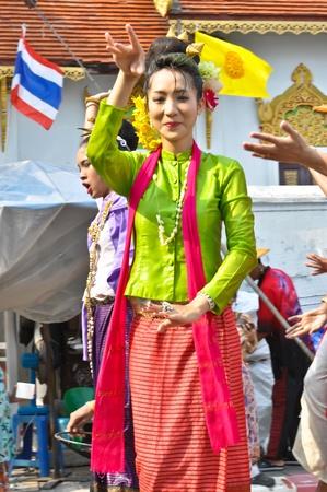 song kan  festival in chiang mai