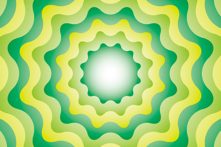 Background Material wallpaper  (Meditation, emission of gear-shaped)