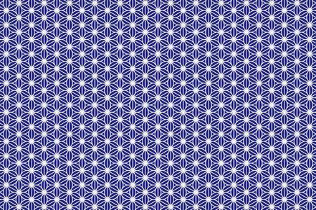 Illustration pour Wallpaper background material, cannabis leaf pattern, hemp leaf patterns, Granny leaves, Japanese, Japan style, tradition, Japanese, Kyoto, m., washi, chiyogami, floral - image libre de droit